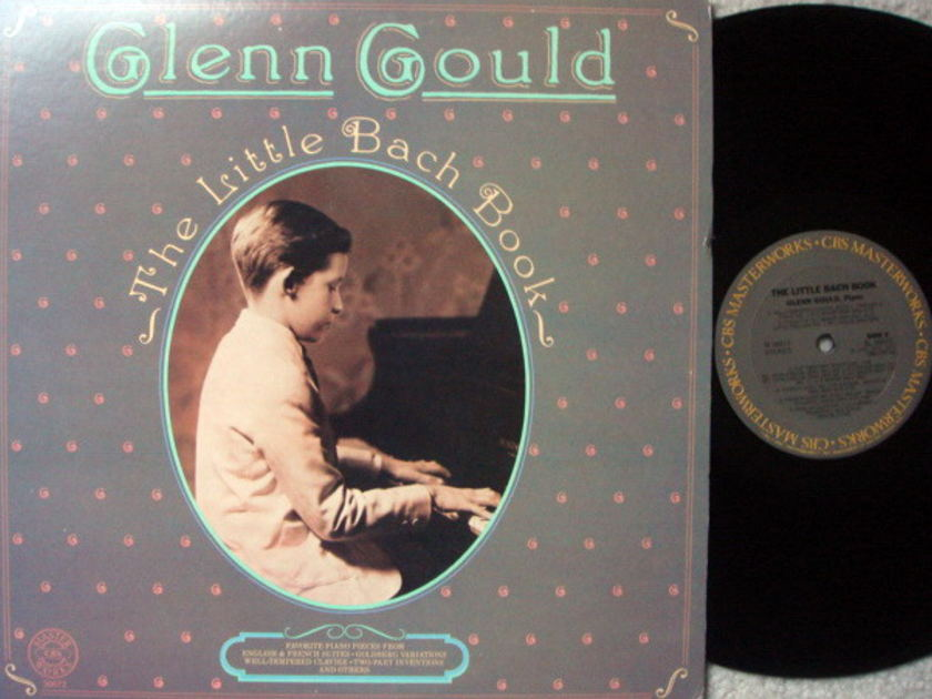 CBS / GLENN GOULD, - The Little Bach Book, NM!