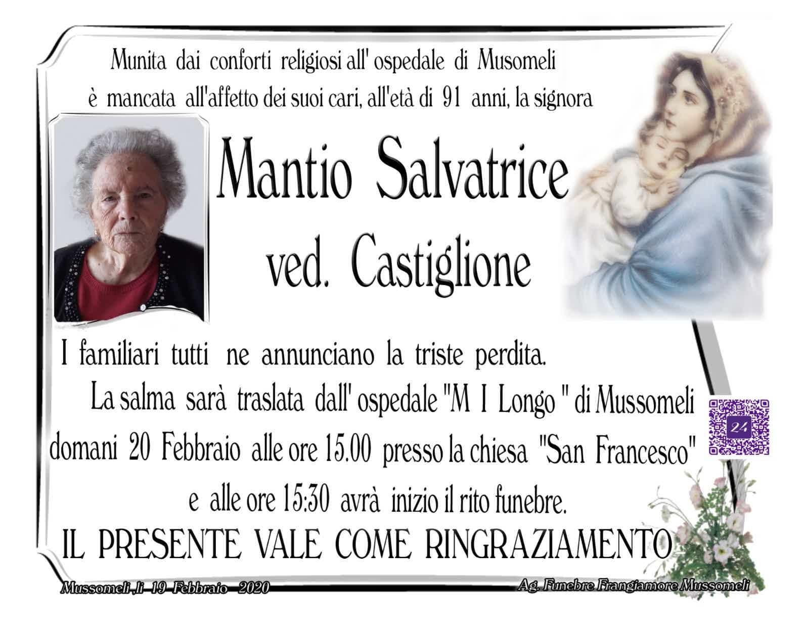 Salvatrice Mantio