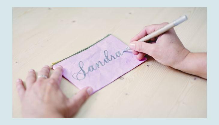 bester geburtstagde kreativ huhn huhn handlettering schrift rosa