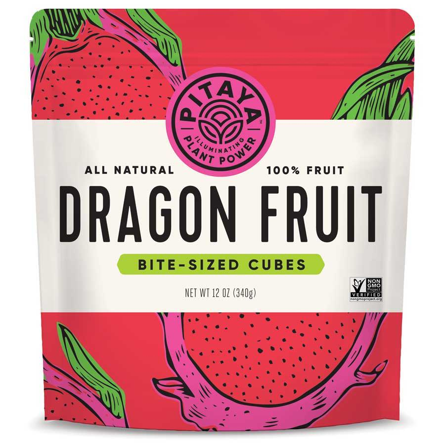 Pitaya Natural Dragon Fruit Cubes