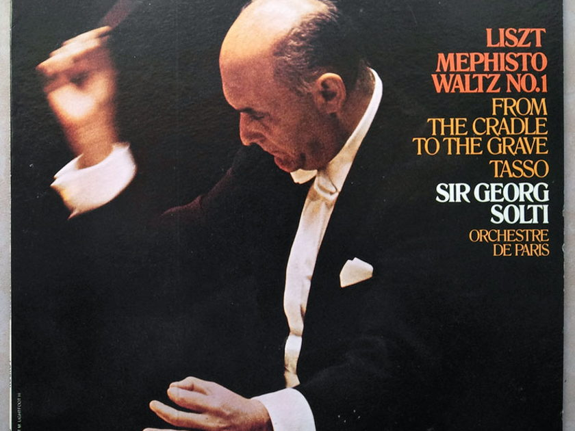 London ffrr/Solti/Liszt - Mephisto Waltz No.1, Tasso, From the Cradle to the Grave / NM