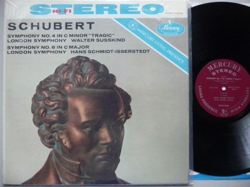 SCHUBERT  - SYM NO. 4 MERCURY LP EXCEL