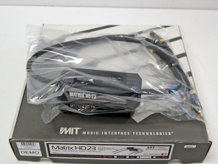 MIT Matrix HD 23 Interconnects 1 meter, RCA