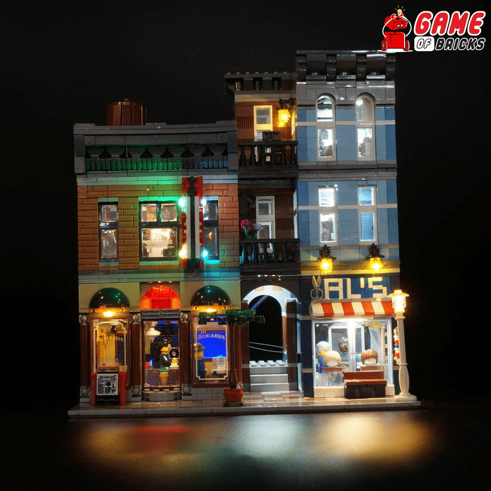 lego night light for DETECTIVE'S OFFICE 10246