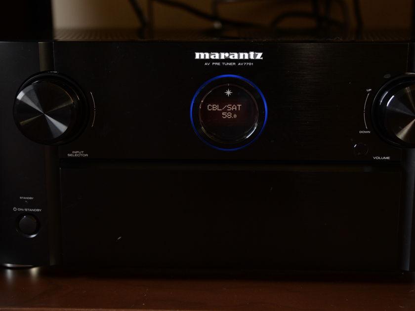 Marantz AV-7701 7.2 channel preamp/processor