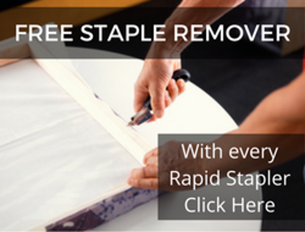 Free Rapid Staple remover with Rapid purchases