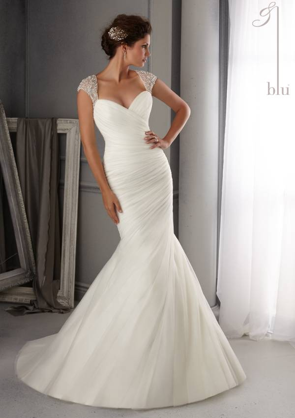 MORI LEE  WEDDING DRESS 5270