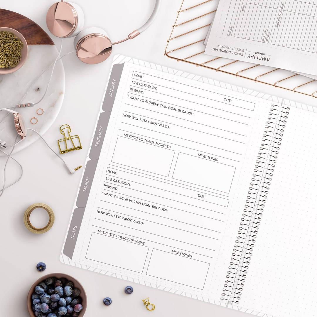 amplify planner goal breakdown insert