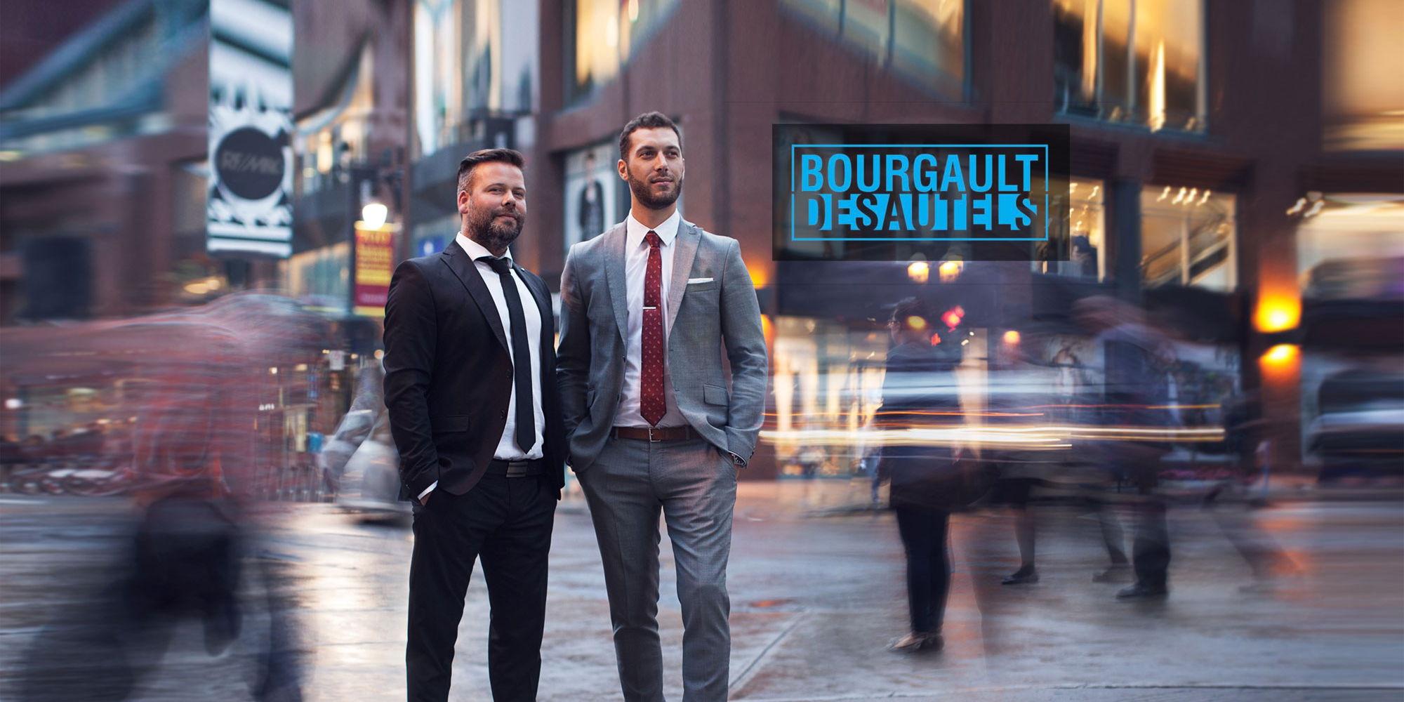 Francois bourgault et anthony desautels courtiers for 1 800 235 2731