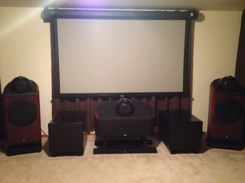 Bowers & Wilkins B&W 801Ds/HTM1D Speakers