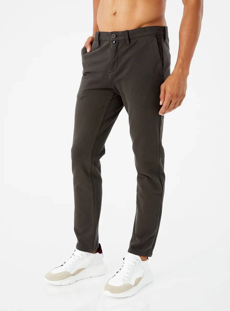 Aiden 4-Way Stretch Chino Pant in Olive