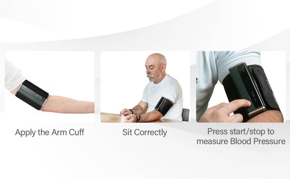 guide rapide pour la mesure de la pression artérielle