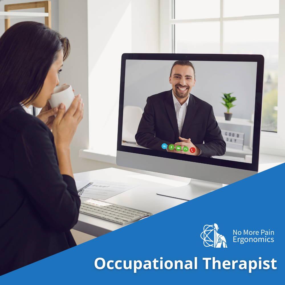 online ergonomic assessment video virutal occupational therapist