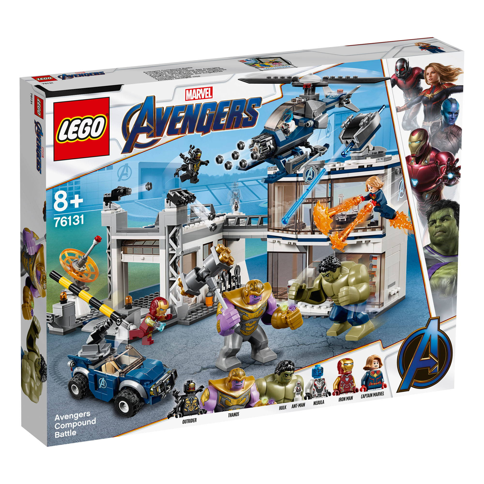 LEGO AVENGERS COMPOUND BATTLE