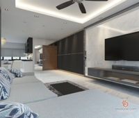 closer-creative-solutions-minimalistic-modern-malaysia-selangor-dining-room-living-room-foyer-interior-design