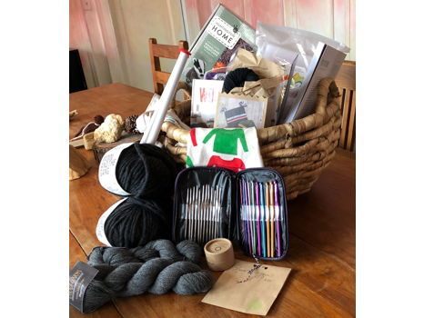 Knitting Basket by First Grade