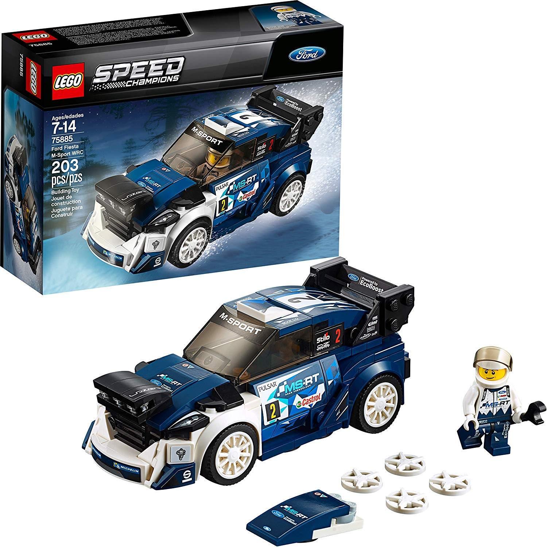 LEGO 75885: Ford Fiesta M-Sport WRC
