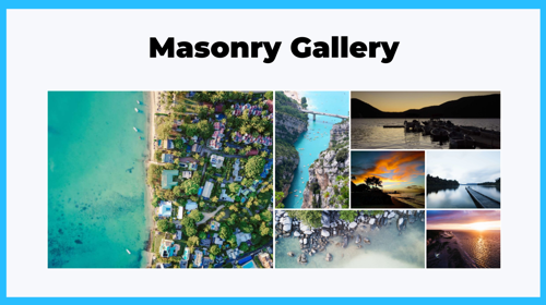Masonry Gallery Layout