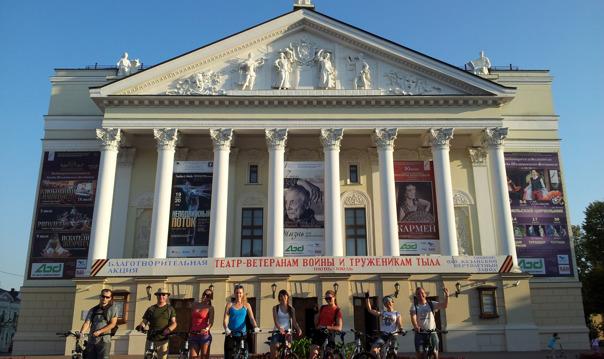 Велоэкскурсия по 1000 летней Казани