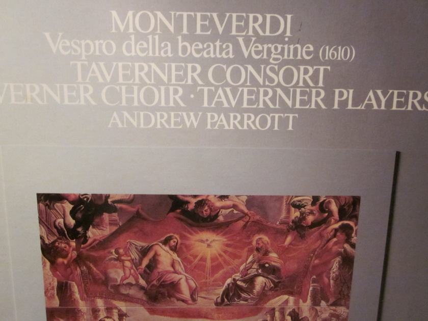 MONTEVERDI Taverner Consort - EMI DSB 3963 ANGEL REFLEXE