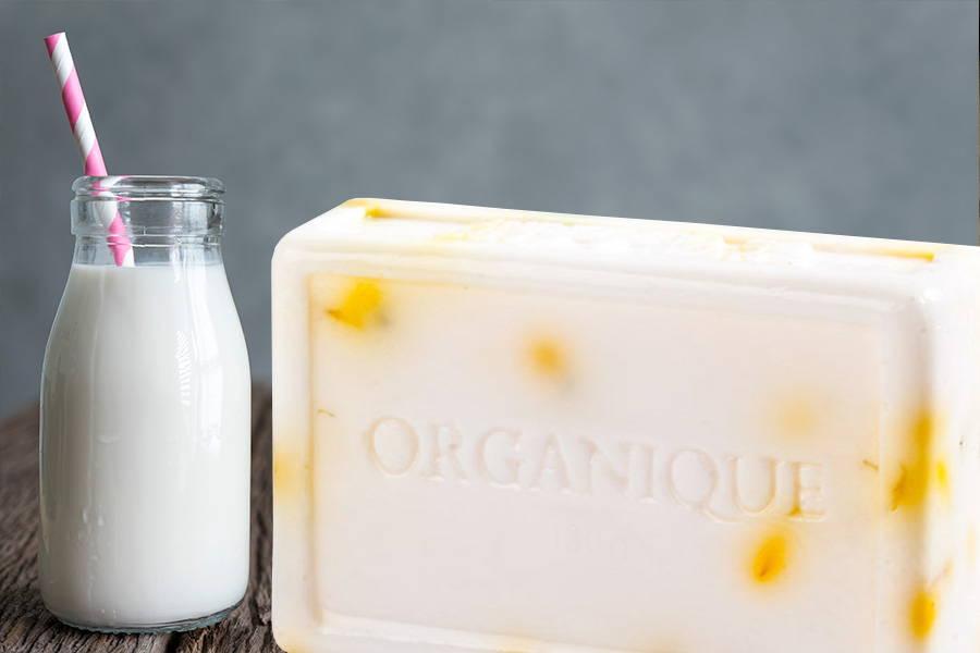 Glycerin Handmade Soap Bar Milk & Marigold 100g