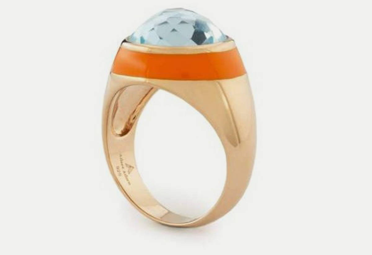 Fathom Enamel Ring