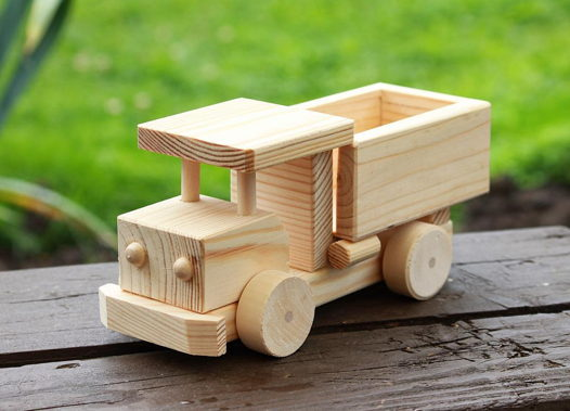 Деревянный грузовик ГАЗ