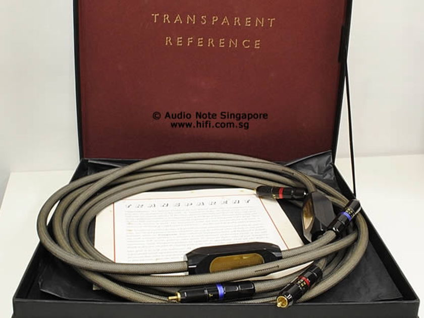 Transparent  Reference RCA Interconnect 10ft. pair