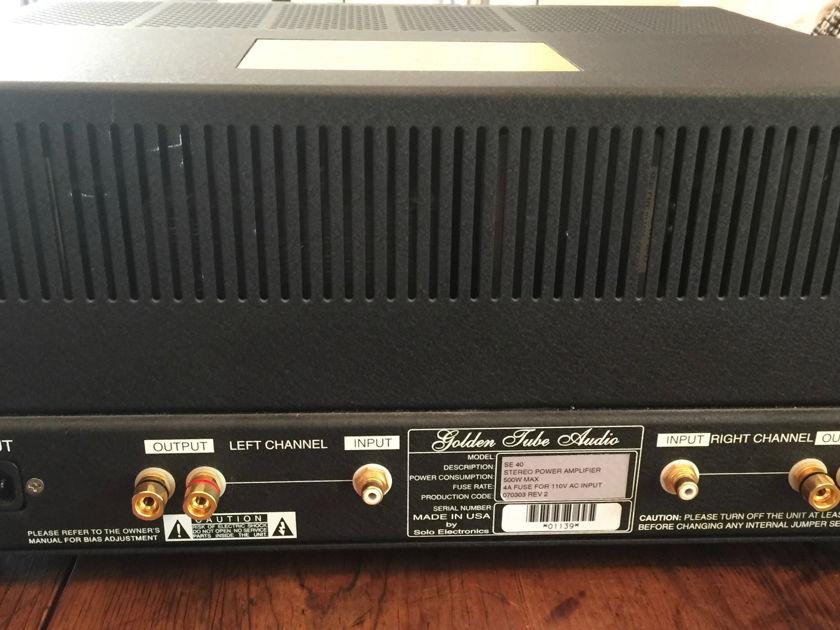 Golden Tube Audio SE40