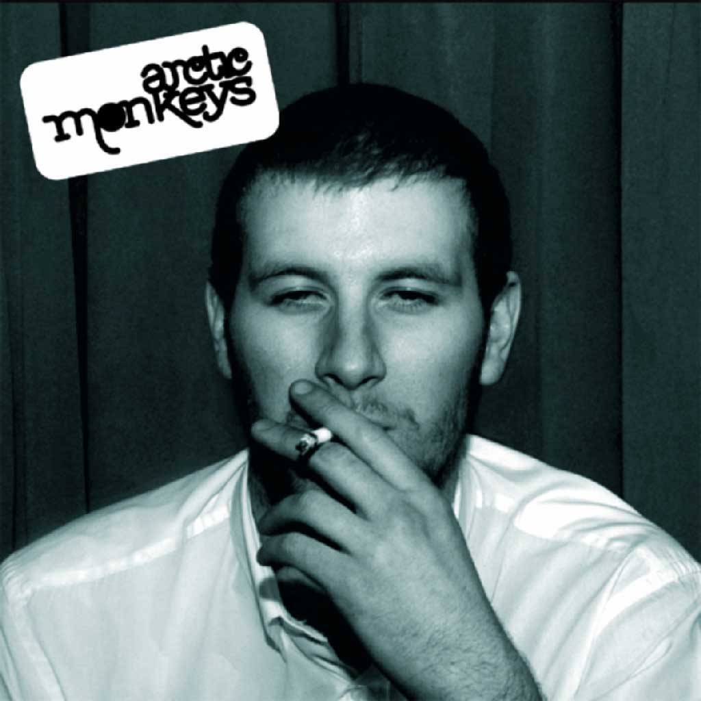 Arctic Monkeys 'whatever people say i am that's what i'm not' album cover