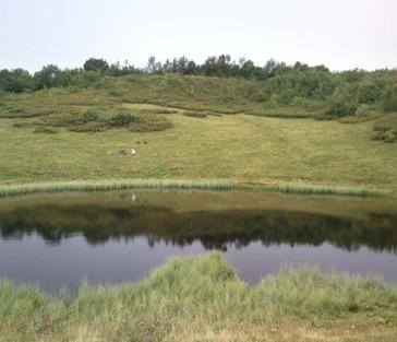 Поход к озеру Зеркальное