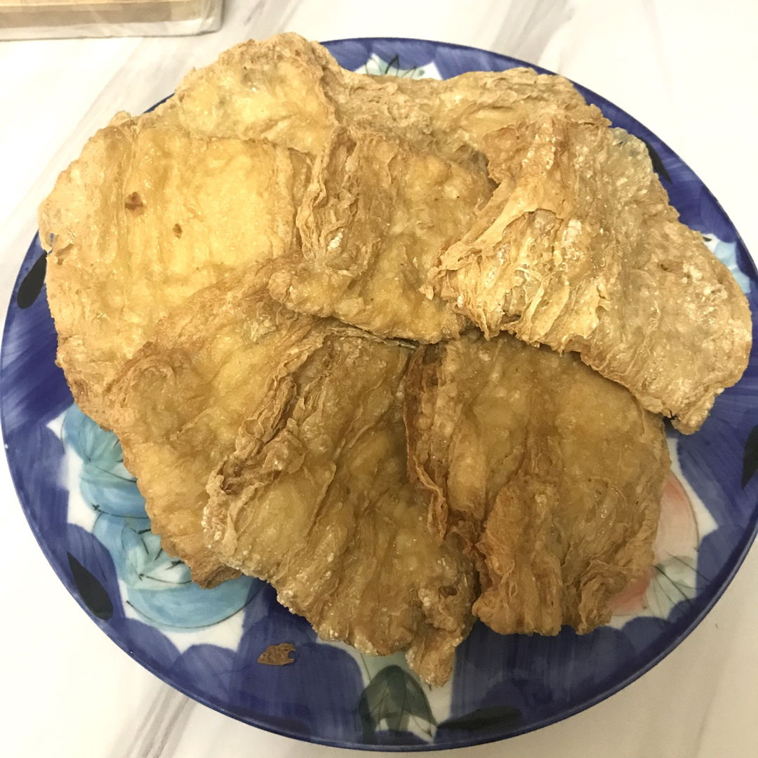 Freshly fried golden dao bao 🥳✌🏻