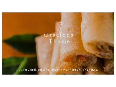 Gracious Thyme Gift Certificate