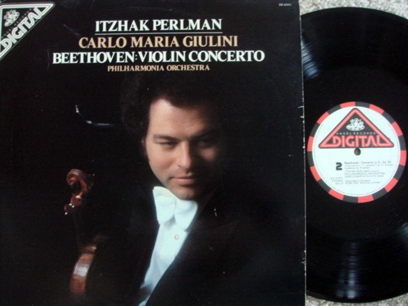 EMI Angel Digital / PERLMAN, - Beethoven Violin Concerto, MINT!