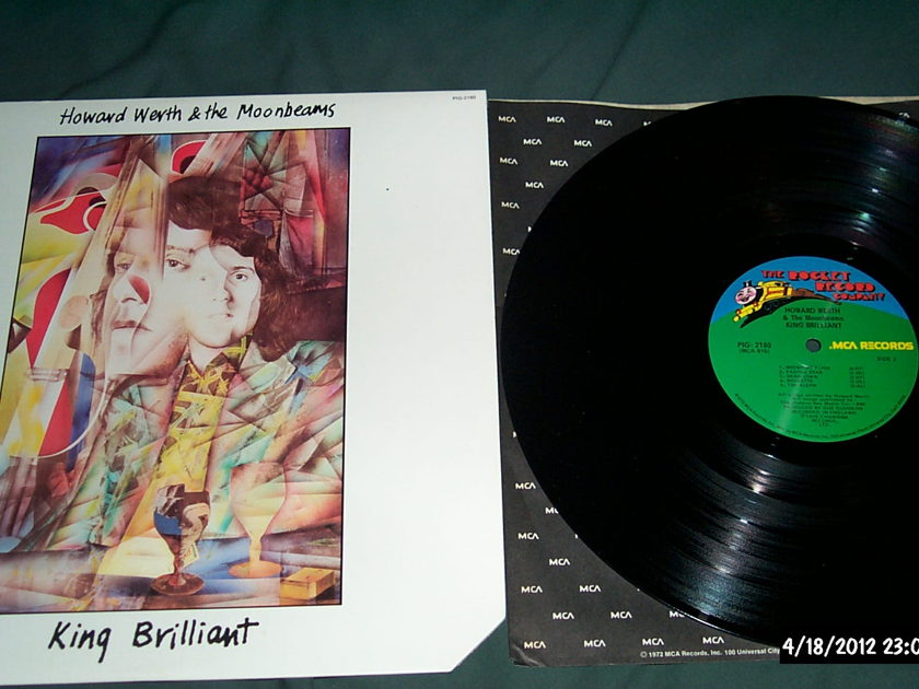 Howard Werth & The - Moonbeams  King Brilliant LP NM Rocket Records
