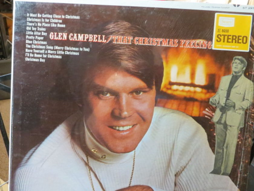 Glen Campbell - THAT CHRISTMAS FEELING CHRISTMAS MUSIC SHRINK STILL ON