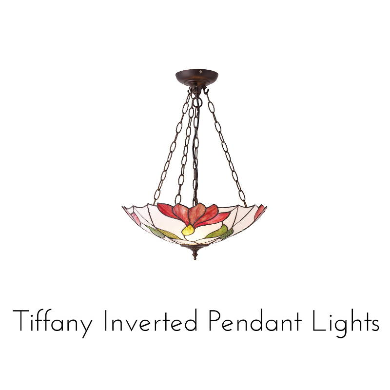 tiffany inverted pendants