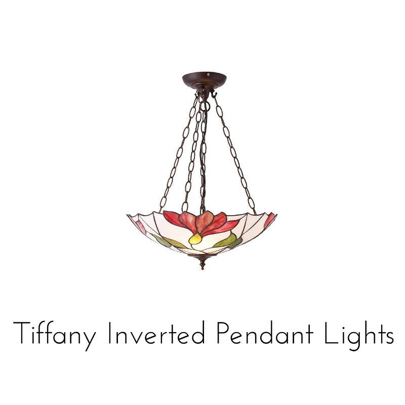 tiffany inverted pendants