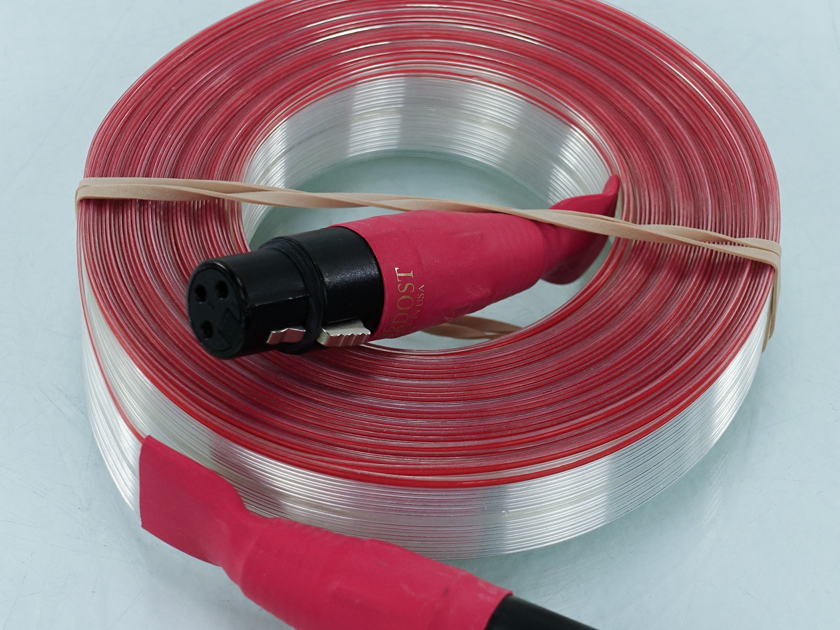 Nordost Red Dawn Flat XLR Cable; 45 ft. Single Interconnect (8882)