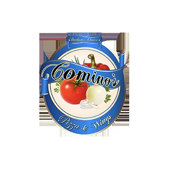 Logo - Cominos Pizza & Wings