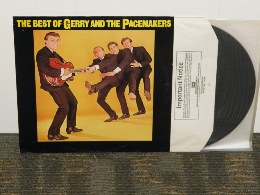 "Gerry And The Pacemakers - ""The Best Of Gerry And The Pacemakers"" UK Import EMI  English pressing"