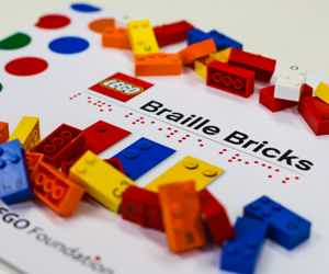 Lego Unveils Braille