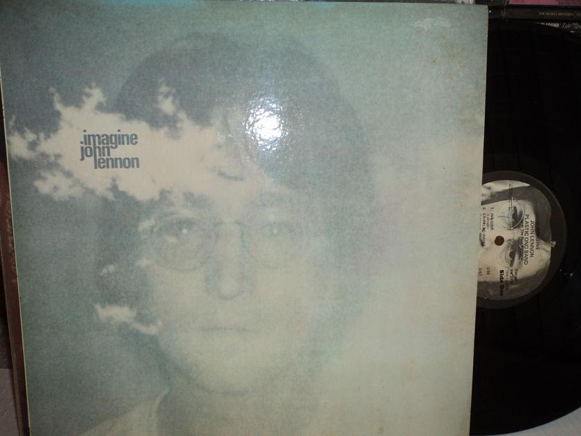 """John Lennon  - """"Imagine""""  (with poster & postcard) Apple SW 3379"""