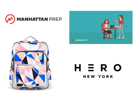 Back to School with Manhattan Prep & Hero Backpack