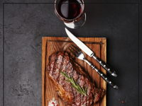 STEAK AND WINE  image
