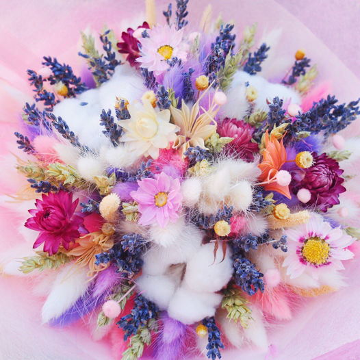 Букет из сухоцветов подарочный