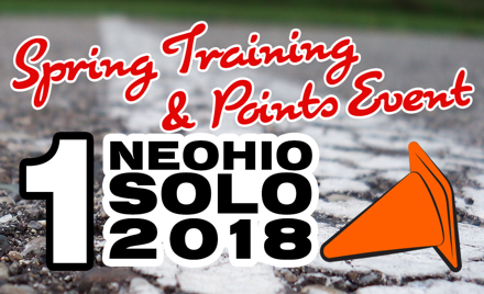 NEOHIO Saturday Spring Training & Points Event #1