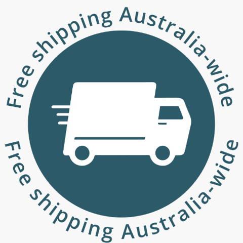 Shipped free in Australia