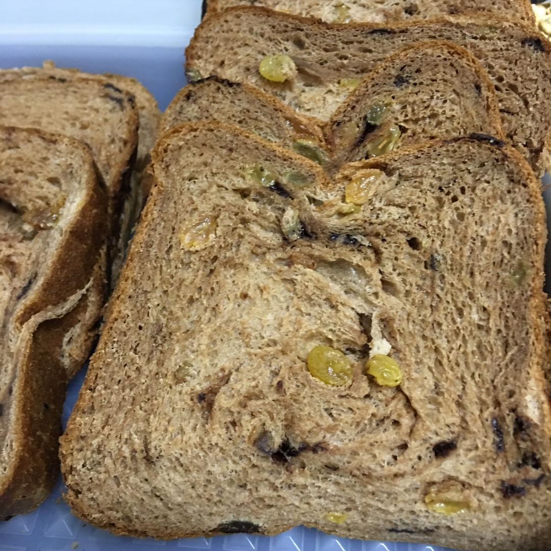 April 14th, 20 - Raisin chocolate chips bread.