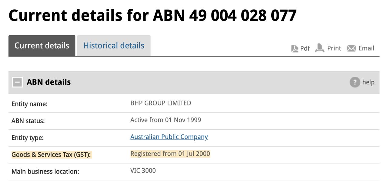 Australian Business Number (ABN) Validation - Vatstack